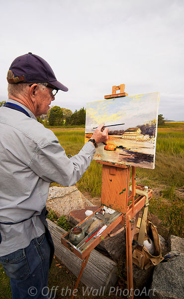 Cape Ann Plein Air 2019, Michael Compton