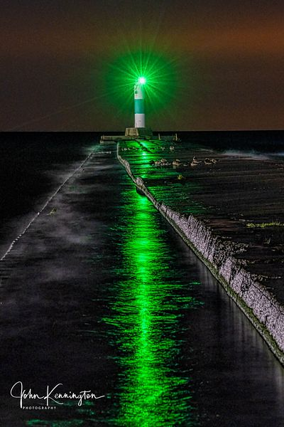 Grand Haven North Pierhead Light, Lake Michigan, Grand Haven, Michigan