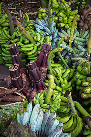 Bananas in the local market,  Vanuatu