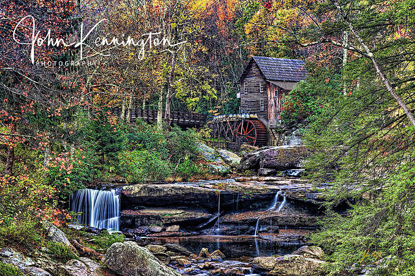 Glade Creek Grist Mill and Falls, Clifftop, West Virginia