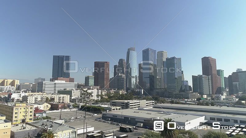 Westlake South Looking towards Downtown Los Angeles California