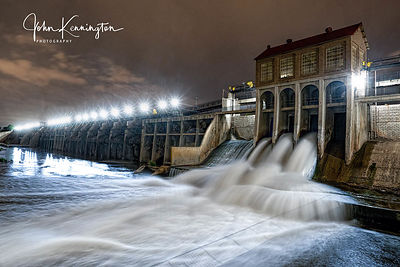 Lake Overholser Dam, Oklahoma City