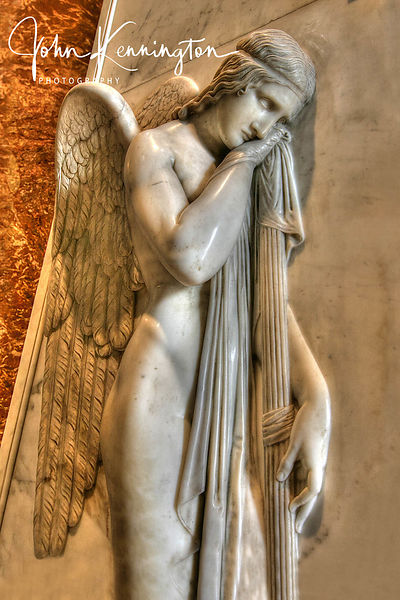 Weeping Angel, Saint Peter's Basilica, Vatican City (Italy)