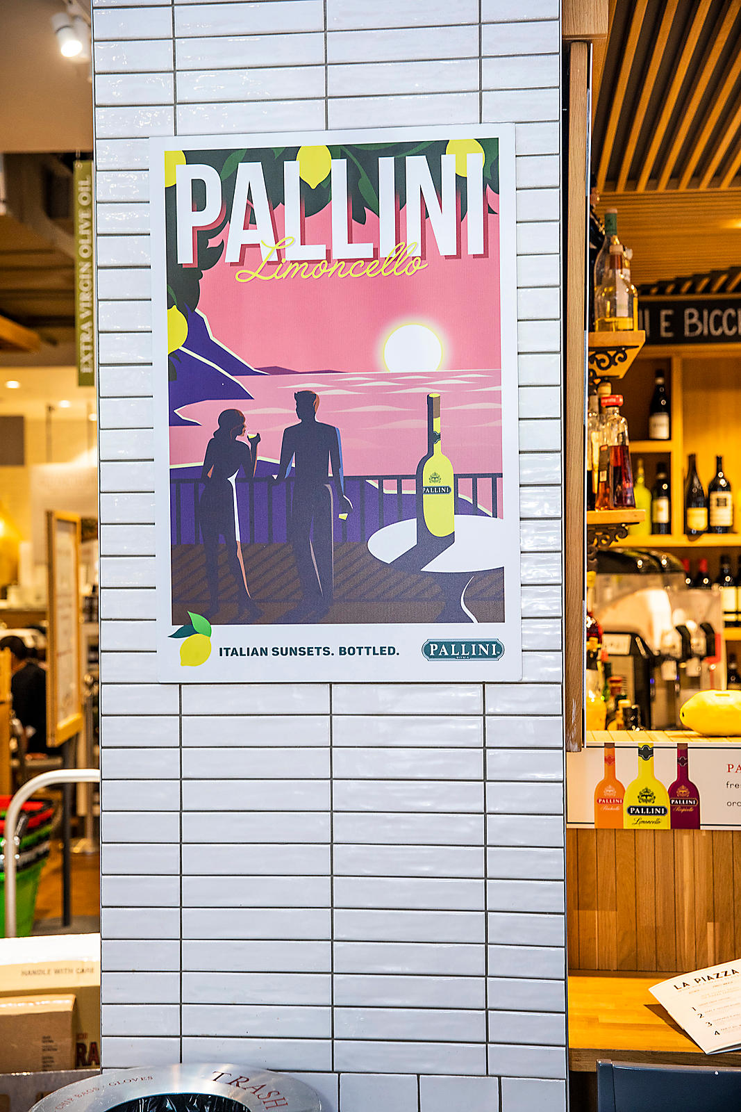 Pallini event at Eataly Boston