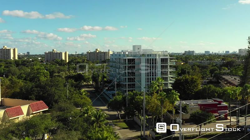 Aerial Video the Highlands North Miami Construction Complete Florida