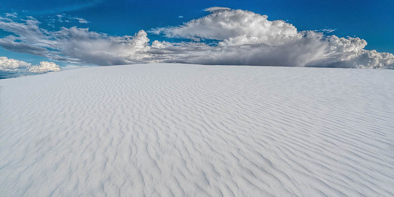 White Sands Panoramic No. 1, White Sands National Monument, New Mexico