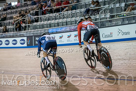 Women Sprint 1/2 Final. Canadian Track Championships, September 27, 2019