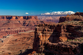 Shafer Canyon in Canyonlands National Park