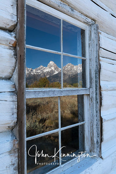 Teton Reflection, Grand Teton National Park, Wyoming