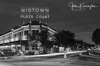 Midtown Plaza Court (BW), Route 66, Oklahoma City