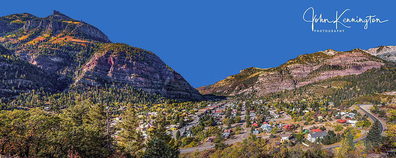 Town of Ouray Panoramic, Colorado