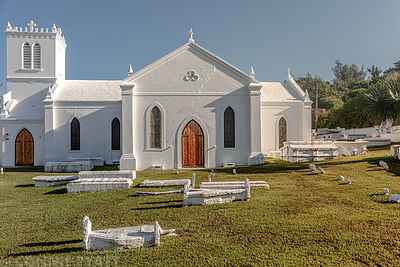 St. Anne's Church Bermuda.