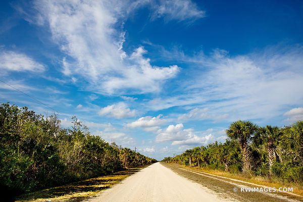 BIRDON ROAD BIG CYPRESS NATIONAL PRESERVE EVERGLADES FLORIDA BACKROADS