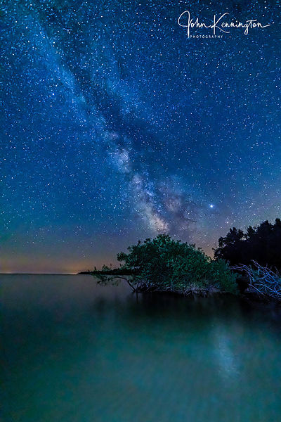 Milky Way Over Lake Michigan No. 1, Door County, Wisconsin