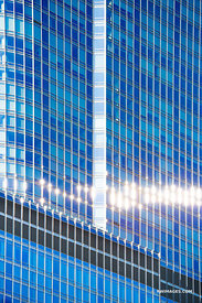 CHICAGO DOWNTOWN ARCHITECTURE ABSTRACT WINDOWS CHICAGO ILLINOIS COLOR VERTICAL
