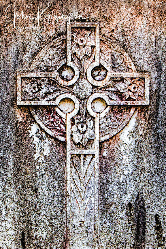 Celtic Cross, Bonaventure Cemetery, Savannah, Georgia