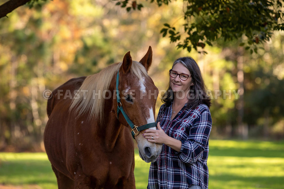 Fast Horse Photography Senior Horse And Owner