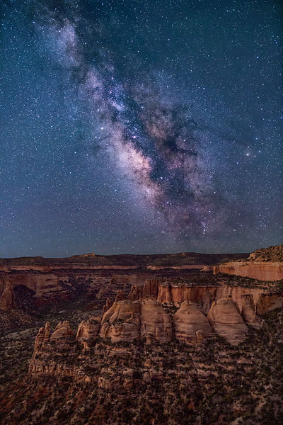 030 - Milky Way Over the Coke Ovens