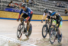 Cat F Keirin 1-6 Final. Track O-Cup #2, January 12, 2020