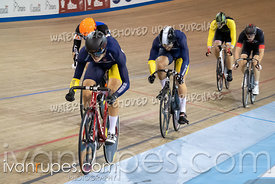 Men Keirin 7-12 Final. Canadian Track Championships, September 28, 2019