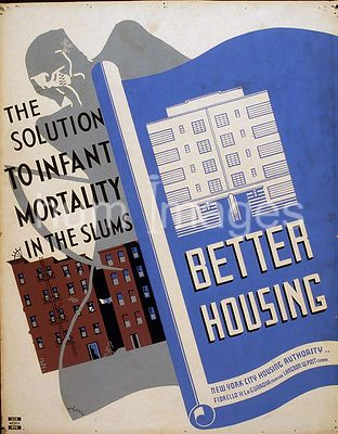 Better housing The solution to infant mortality in the slums ca. 1936