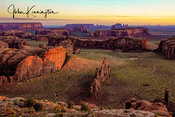 Hunts Mesa First Light, Navajo Nation, Arizona