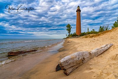 Little Sable Light No 1 Driftwood, Lake Michigan, Silver Lake, Michigan
