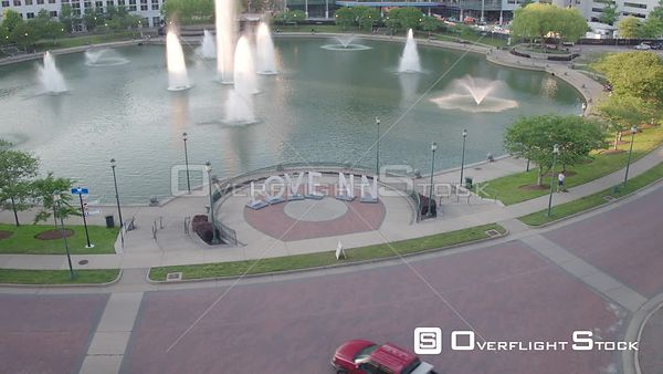Fixed 'Love NN' Sign with Fountain in Newport News, VA
