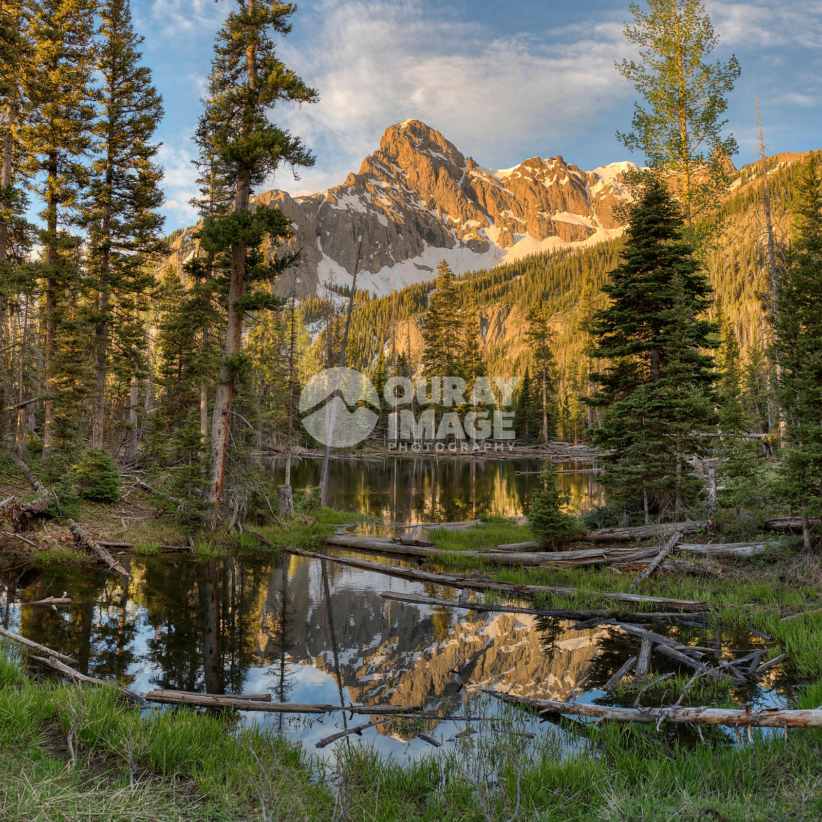 Morning Reflections at Peak S9 in the Sneffels Range