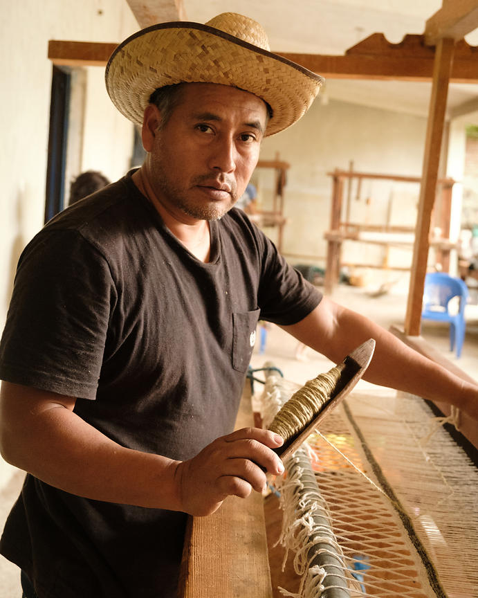 Weaving Teotitlan