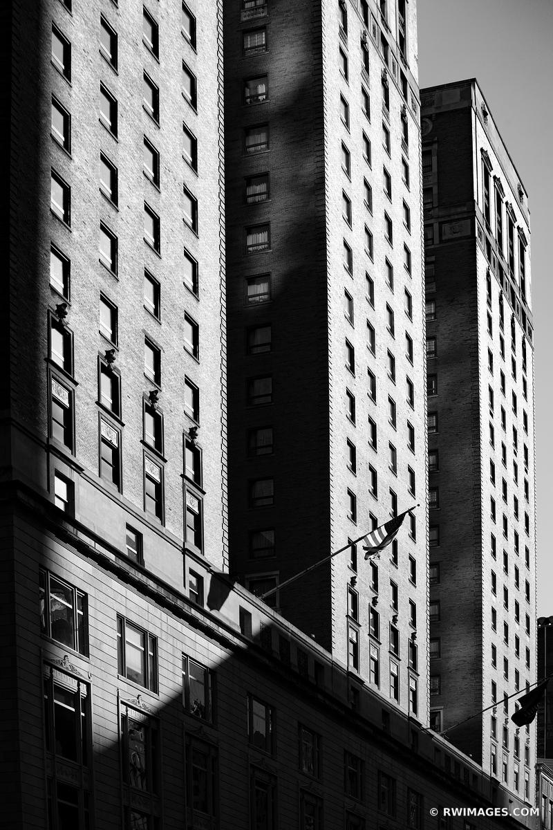 CHICAGO ARCHITECTURE CHICAGO ILLINOIS BLACK AND WHITE VERTICAL