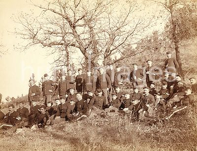 "Company ""C,"" 3rd U.S. Infantry near Fort Meade, South Dakota 1890"