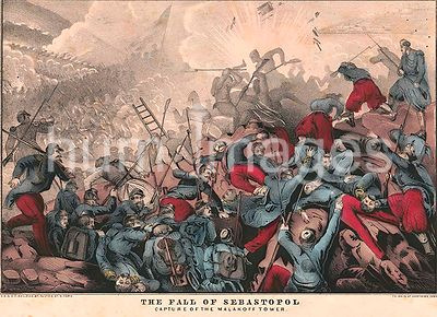 The fall of Sebastopol Capture of the Malakoff tower