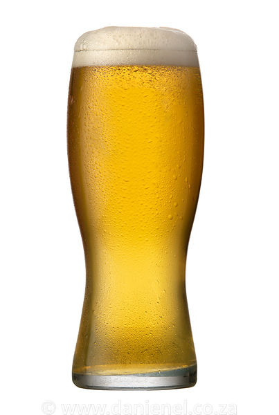 A Cold Beer in Glass