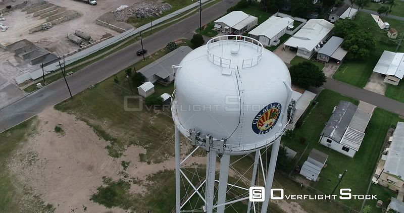 Water Tower and La Feria Texas USA