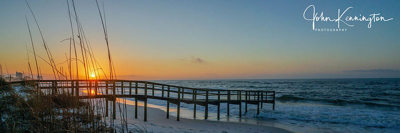 Pensacola Beach Sunrise Panoramic, Florida