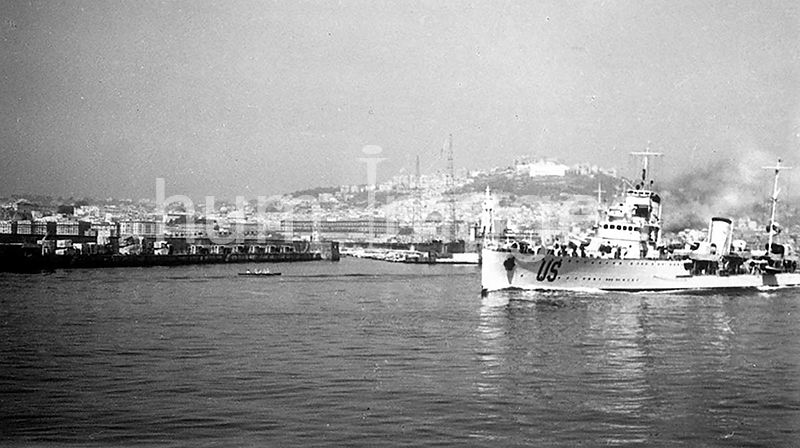 Port of Naples in Naples Italy ca. late 1930s or early 1940s