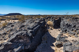 Amboy Crater along Route 66 in  California