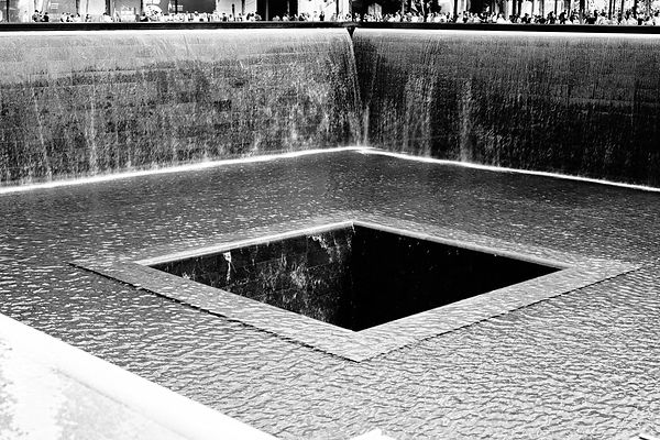 Reflecting Pool — North Tower