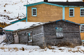 Classic House at English Harbour, Newfoundland