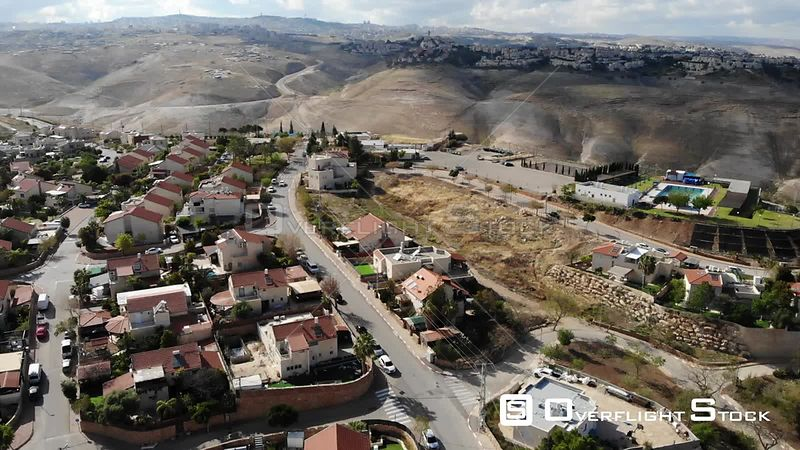 Jewish Settlement Qedar Close to Maale Adumim City