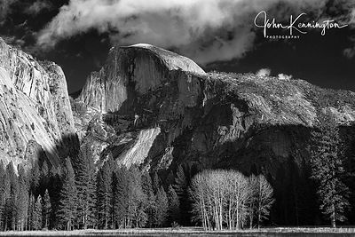 Half Dome Over Ahwahnee Meadow, Yosemite National Park