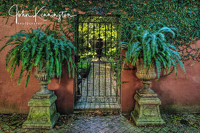 Secret Garden Gate, Savannah, Georgia