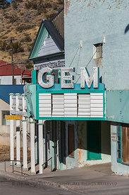 Gem Theater in Pioche, Nevada
