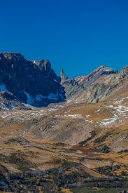 Bears Tooth Spire along Beartooth Highway