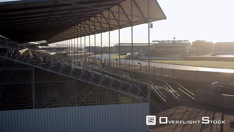 Silverstone Car Race Track England
