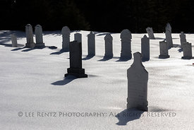 Cemetery in Twillingate, Newfoundland