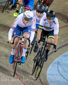 Men C2 Scratch Race / Omni IV. 2020 UCI Para-Cycling Track World Championships, Day 3 Morning Session, February 1, 2020