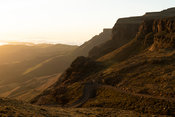 Sunrise at Sani Top, Lesotho