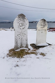 Cemetery at Anglican Church at English Harbour, Newfoundland